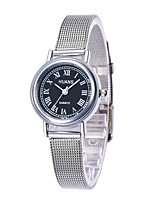 cheap -L.WEST Women's Quartz Wrist Watch Chinese Casual Watch Alloy Band Casual Fashion Silver