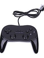 abordables -Wii Câblé Contrôleurs de jeu Pour Wii Wii U Contrôleurs de jeu ABS 1pcs unité USB 2.0