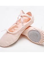 abordables -Femme Chaussures de Ballet Toile Plate Talon Cubain Chaussures de danse Rose / Chair / Utilisation / Entraînement