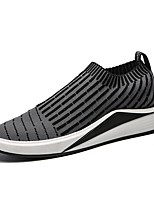 cheap -Men's Shoes Net / Tulle Summer Comfort / Light Soles Sneakers Black / Dark Grey / Light Grey