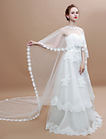 cheap -Sleeveless Tulle Wedding / Party / Evening Women's Wrap With Ruffle Capelets