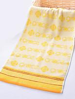 Недорогие -Высшее качество Полотенца для мытья, Геометрический принт / Цитаты и выражения Полиэстер / Хлопок / 100% хлопок 1 pcs