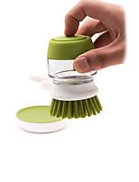 abordables -Cuisine Les fournitures de nettoyage Plastique / verre Plumeau & Serviette de Nettoyage Creative Kitchen Gadget 1pc