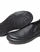 abordables -Homme Chaussures Cuir Printemps Confort Mocassins et Chaussons+D6148 pour Bureau et carrière Noir Café