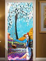 abordables -Autocollants muraux décoratifs - Autocollants muraux 3D Paysage / A fleurs / Botanique Bureau / Bureau de maison / Chambre des enfants