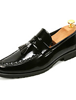 cheap -Men's Shoes Leatherette Spring Fall Comfort Loafers & Slip-Ons for Casual Party & Evening Black Brown