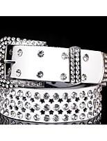 cheap -Women's Active Rhinestone Waist Belt - Solid Colored Beaded