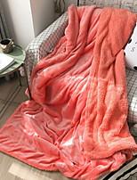 cheap -Coral fleece, Printed & Jacquard Print Cotton / Polyester Acrylic Fibers Blankets