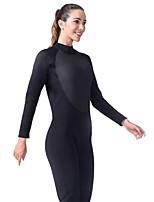 preiswerte -LIFURIOUS Damen Neoprenanzug Tauchanzüge tragbar, Hochelastisch, Weichheit Langarm Solide / Rückenverschluß