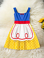 cheap -Toddler Girls' Patchwork Sleeveless Dress
