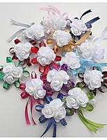 Недорогие -Свадебные цветы Букетик на запястье Свадьба / Особые случаи Шелк / пена 0-10 cm