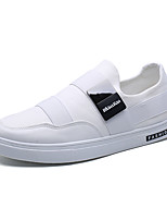 cheap -Men's Shoes Canvas / Tulle Summer Comfort Sneakers White / Black / Red