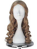 cheap -Cosplay Wigs Cosplay Alice Anime Cosplay Wigs 139.7cm CM Heat Resistant Fiber All