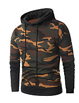 cheap -Men's Active Basic Hoodie - Camouflage