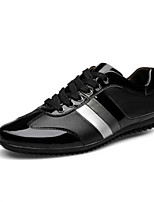 cheap -Men's Shoes Nappa Leather / Cowhide Spring Comfort Sneakers Black