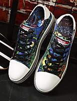 economico -Unisex Scarpe Di corda Primavera Comoda Sneakers Nero / Blu