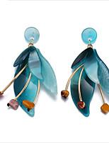 cheap -Women's Stud Earrings / Drop Earrings / Hoop Earrings - Flower European Coffee / Blue For Wedding / Daily