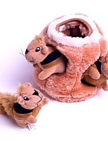 cheap -Squirrel Stuffed Animal Plush Toy Animals / Creative / Stress and Anxiety Relief Gift 1pcs