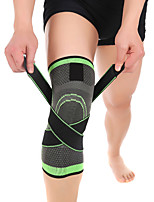 cheap -Knee Brace for Basketball / Running Unisex Moisture Wicking / Breathable / Stretchy Sports & Outdoor Lycra Spandex / Nylon 1 pc Green