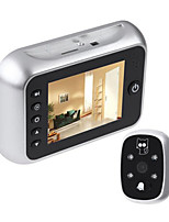 cheap -Video Door Phone Systems Wireless Photographed / Recording 3.5inch Hands-free One to One video doorphone