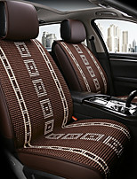 cheap -ODEER Car Seat Cushions Seat Covers Coffee Textile Common for universal All years All Models