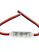 baratos -1pç 12-24V 3 chaves Acessório Light Strip Controle Plástico para luz de tira do diodo emissor de luz