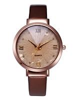 Недорогие -Жен. Часы-браслет Китайский Секундомер PU Группа Блестящие / Мода Черный