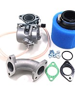 abordables -vm22 mikuni pz26 carb collecteur d'huile joint filtre à air pour lifan 110cc yx 125cc dirt pit bike atv