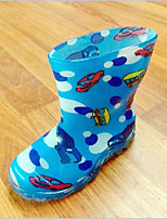 cheap -Girls' Shoes PVC Leather Spring & Summer Rain Boots Boots for Green / Blue / Pink