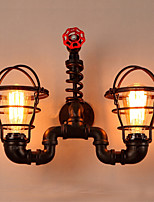 cheap -Novelty Wall Lamps & Sconces Outdoor / Shops / Cafes Metal Wall Light IP44 220-240V 40W