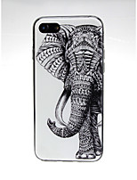 abordables -Funda Para Apple iPhone X / iPhone 7 Ultrafina / Diseños / Encantador Funda Trasera Paisaje Suave TPU para iPhone X / iPhone 8 Plus /