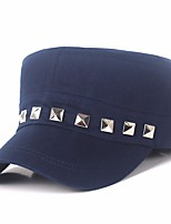 cheap -Men's Party Active Polyester Beret Hat - Solid Colored Tassel