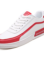 economico -Per uomo Scarpe PU (Poliuretano) Primavera & Autunno Suole leggere Sneakers Bianco / Rosa e bianco / Bianco / nero