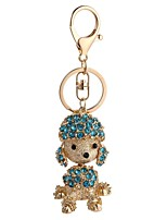 cheap -Dog Keychain Red / Light Blue / Light Green Alloy Casual, Fashion For Gift / Daily