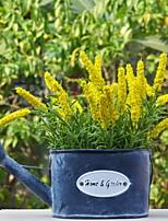 preiswerte -Künstliche Blumen 1 Ast Rustikal Lavendel Tisch-Blumen