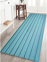 cheap -Creative Casual Country Doormats Area Rugs Flannelette, Superior Quality Rectangle Striped Lines / Waves Rug