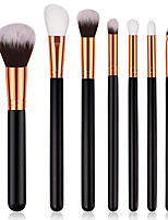 cheap -7 pcs Makeup Brushes Professional Makeup Brush Set Nylon fiber Eco-friendly / Soft Wooden / Bamboo
