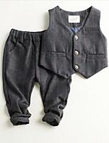cheap -Kids / Toddler Boys' Striped Sleeveless Clothing Set