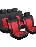 cheap -Car Seat Covers Seat Covers Red Textile Common for universal Universal