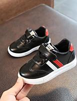 preiswerte -Mädchen Jungen Schuhe PU Frühling Lauflern Sneakers für Draussen Schwarz Grün Blau Rosa