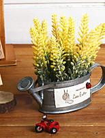 Недорогие -Искусственные Цветы 1 Филиал Деревня / Винтаж Светло-голубой Букеты на стол