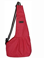 cheap -Dogs / Cats / Pets Shoulder Bag Pet Carrier Portable / Travel Solid Colored / British Black / Red
