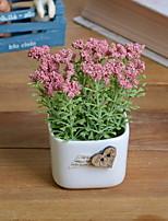 cheap -Artificial Flowers 1 Branch Rustic Plants Tabletop Flower