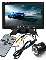 cheap -ZIQIAO 7inch TFT-LCD CCD Wired 170 Degree Car Rear View Kit Waterproof / Multi-functional display / LCD Screen for Car
