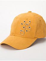 abordables -Femme Rétro / Basique Bob / Casquette de Baseball / Chapeau de soleil Couleur Pleine / Géométrique