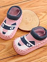 Недорогие -Мальчики / Девочки Обувь Хлопок Наступила зима Обувь для малышей Мокасины и Свитер для Синий / Розовый / Светло-Розовый