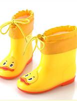 cheap -Girls' Shoes PVC Fall & Winter Rain Boots Boots for Green / Blue / Pink