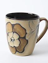 Недорогие -Drinkware Фарфор Кофейные чашки Кружка Теплоизолированные 1pcs