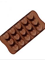 baratos -Ferramentas bakeware Silicone Gadget de Cozinha Criativa Chocolate / para Candy Ferramentas de Sobremesa 1pç