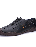 cheap -Men's Shoes Cowhide Spring Fall Light Soles Loafers & Slip-Ons for Casual Black Light Brown Dark Brown